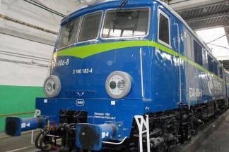 Niebieska lokomotywa