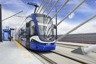 Niebieski tramwaj