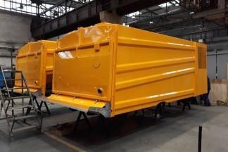 Żółty wagon